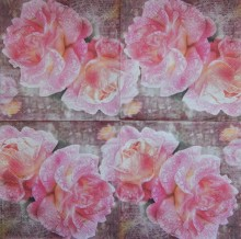 Ubrousky 33 x 33 cm English rose